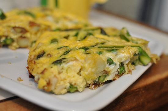 Asparagus and Red Potato Frittata