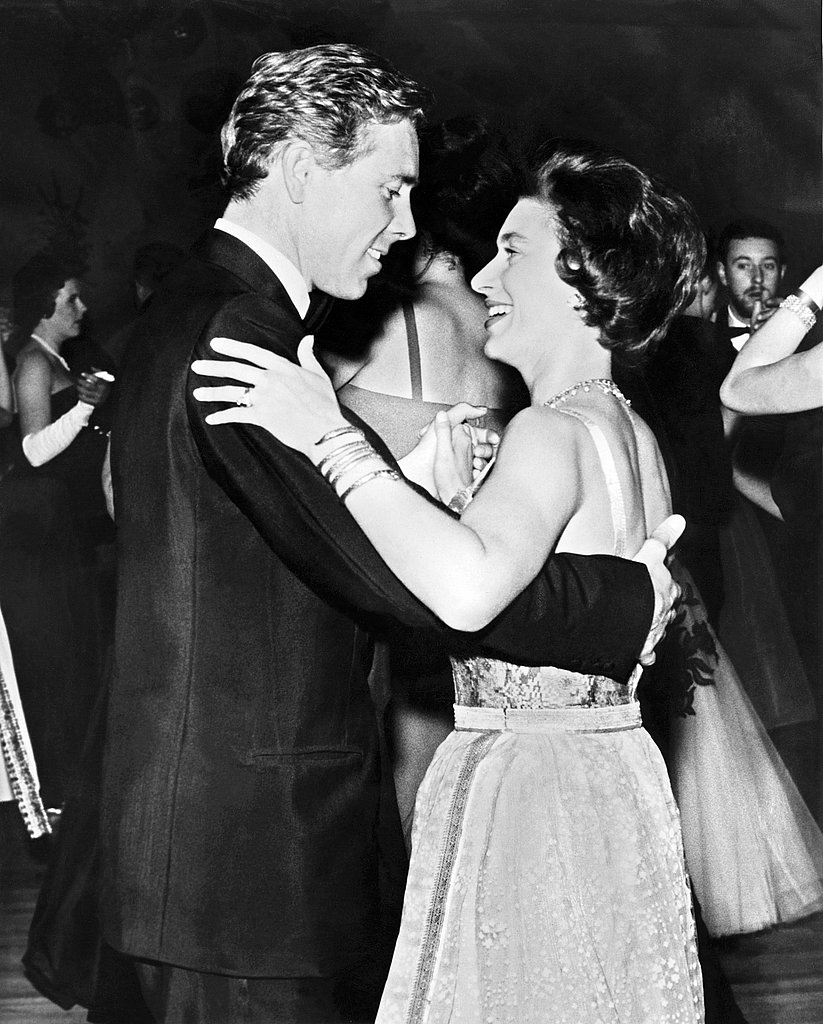 The princess and her husband danced at a charity ball in 1963.