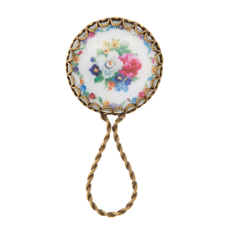 Flower Detail Mirror, $24.66