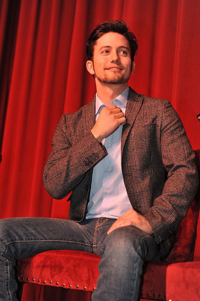 Jackson Rathbone at a Breaking Dawn Part 1 event in Georgia.