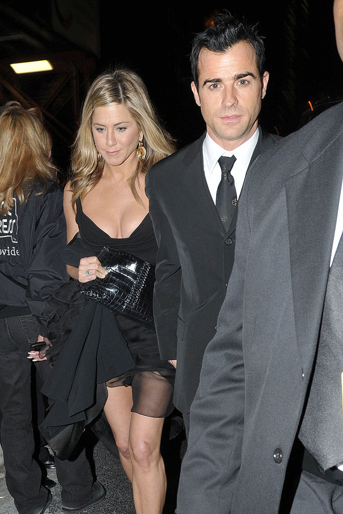 Jennifer and Justin attended the Glamour Women of the Year awards afterparty.