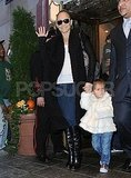 Jennifer Lopez and Emme Muñiz held hands.