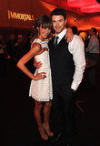 Kellan Lutz and Sharni Vinson took their relationship public at the Immortals premiere in LA.