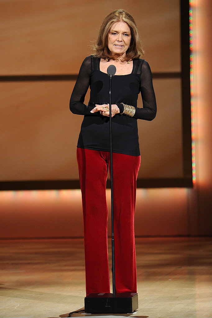 Gloria Steinem at the 2011 Glamour Women of the Year Awards.