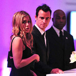 Jennifer Aniston and Justin Theroux Pictures at MOMA Party