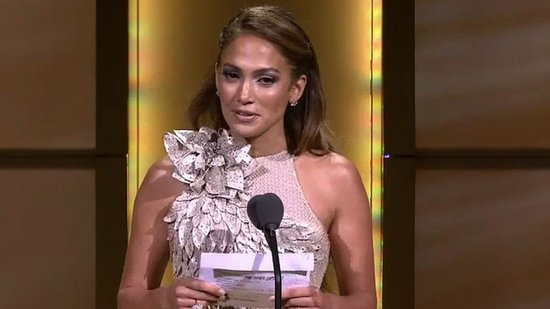 "Video: Jennifer Lopez Is Honored and Honest About Her Year of ""Ups and Not So Ups"""