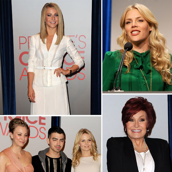 Julianne Hough, Busy Philipps, and More Dress Up to Present the 2012 People's Choice Award Nominations