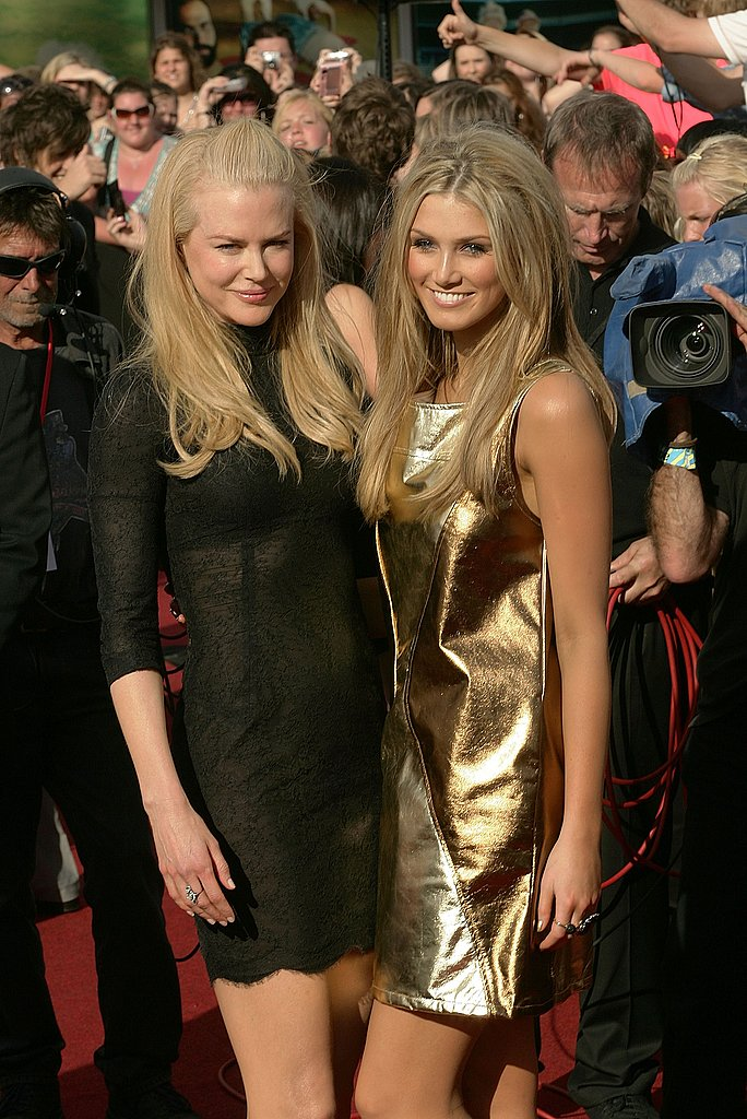 Nicole Kidman and Delta met up on the red carpet at the ARIA Awards in Nov. 2007.