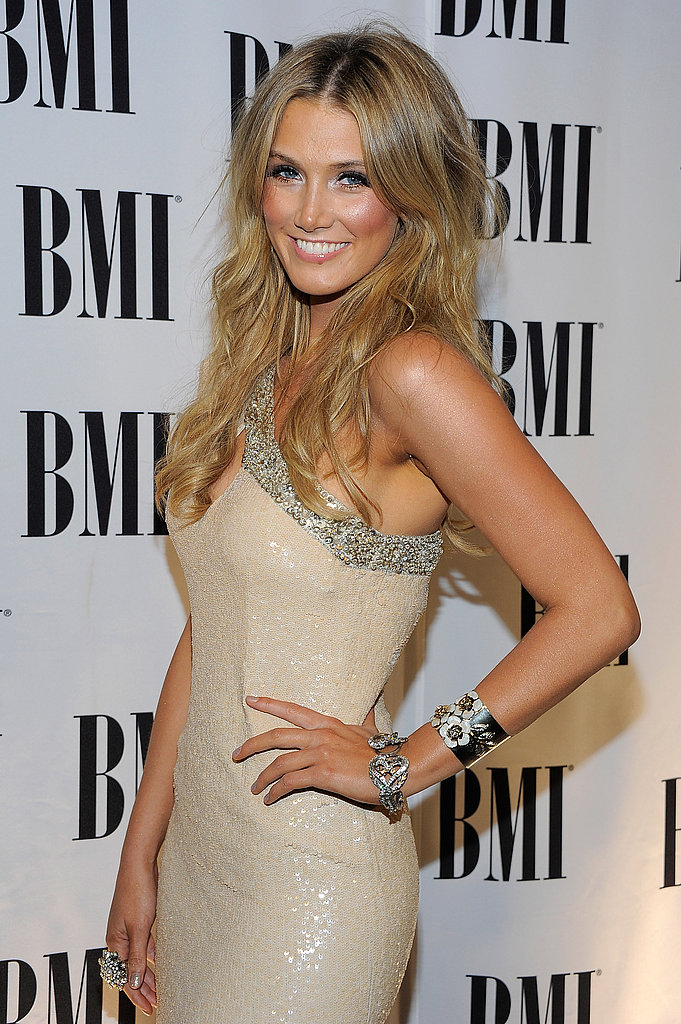 Striking a pose at the BMI Pop Music Awards in Beverly Hills in May.