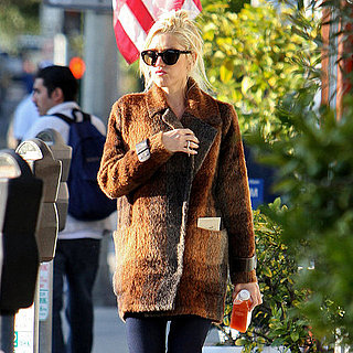 Gwen Stefani Drinks Pressed Juicery Pictures
