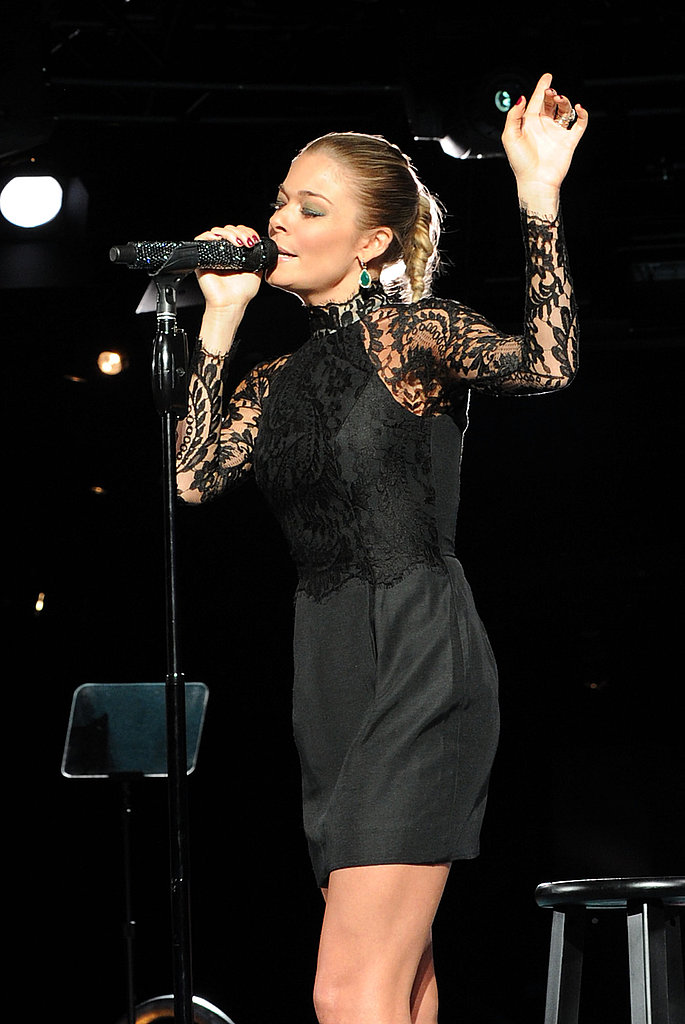 LeAnn Rimes performed at the 2011 BMI Country Awards.