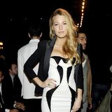 Blake Lively at Versace For H&M Event (Video)
