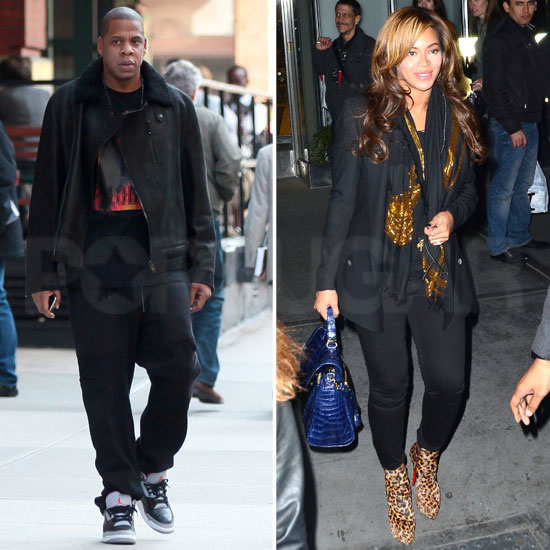 Beyoncé and Jay-Z Divide and Conquer in NYC