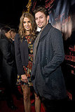 Nikki Reed and Jackson Rathbone attended the Breaking Dawn: Part 1 concert series in Chicago.