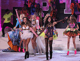 Adriana Lima and Alessandra Ambrosio led the finale of the 2011 Victoria's Secret Fashion Show.