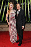 Keith Urban and Nicole Kidman chose bold looks for the 59th Annual BMI Country Awards.