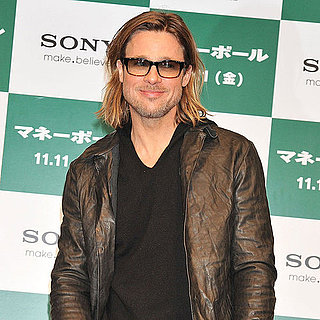 Brad Pitt at Moneyball Photo Call in Japan Pictures