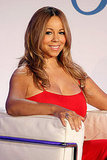 Mariah Carey showing off her postbaby body.