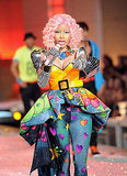 Nicki Minaj gave a thrilling performance at the 2011 Victoria's Secret Fashion Show.