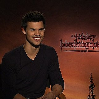Taylor Lautner Breaking Dawn Interview (Video)