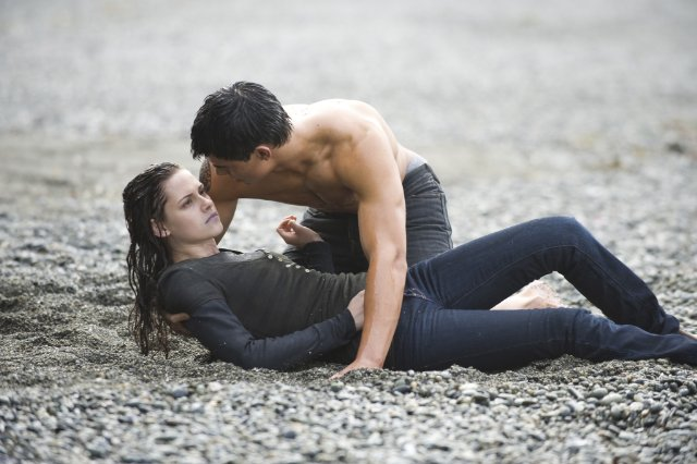 After Edward leaves Forks in New Moon, Bella and Jacob start to grow closer.