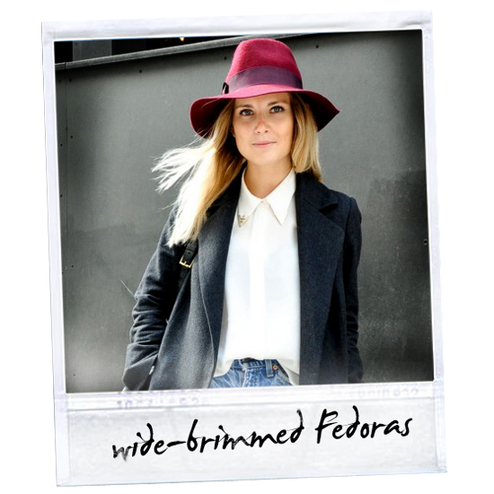 Fall 2011 Trend: Floppy Hats and '70s-Style Fedoras