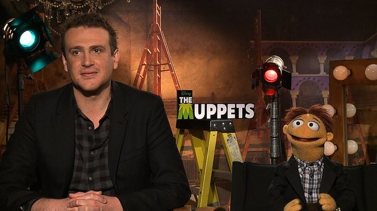 "Jason Segel Says He and His Puppet Brother Walter ""Are Both Muppets"""