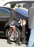 Nicole Richie takes Harlow Madden to ballet.