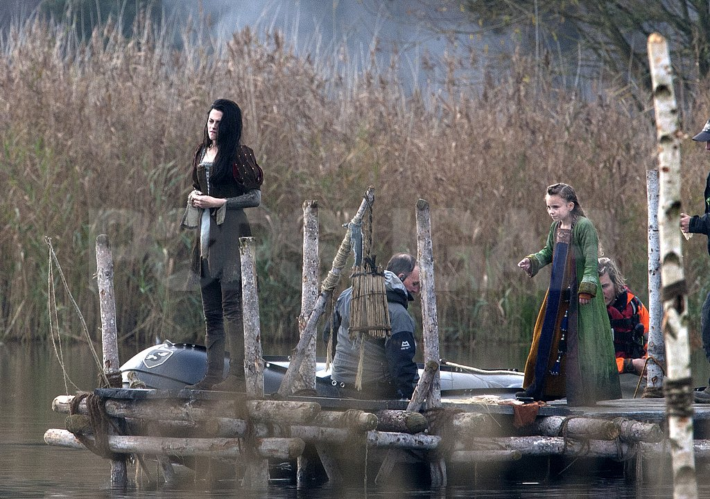 Kristen Stewart filmed for Snow White and the Huntsman.