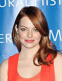 Emma Stone was radiant at the Museum of Natural History.