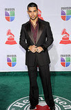 Wilmer Valderrama wore a dark suit at the 2011 Latin Grammys.
