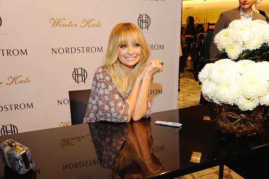 Fans who purchased items from the collection had a chance to meet Nicole.