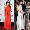 Who Wore It Better: Angelina Jolie and Kate Middleton in Jenny Packham