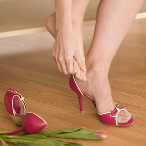 How to Stretch Your Feet if You Wear High Heels
