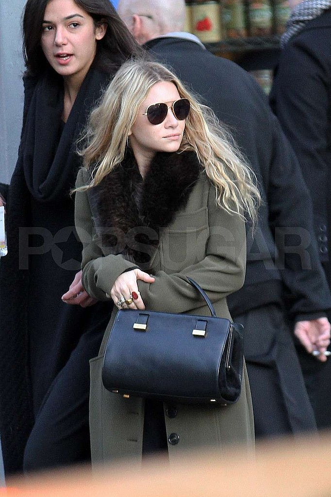 Ashley Olsen looked both ways in NYC.