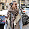 Jessica Alba's Daughter Haven Warren Pictures in Milan