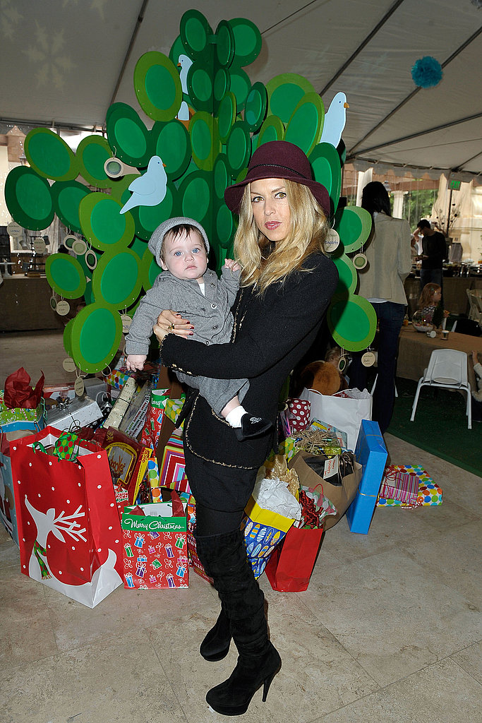 Nicole Richie Hosts a Winter Wonderland Event