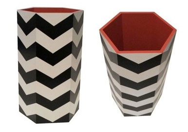 Chevron Umbrella Stand