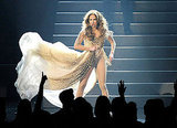 Jennifer Lopez danced at the American Music Awards.