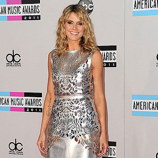 Heidi Klum Pictures at 2011 American Music Awards