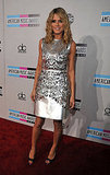 Heidi Klum wore a sexy silver Giles Deacon dress at the 2011 American Music Awards.