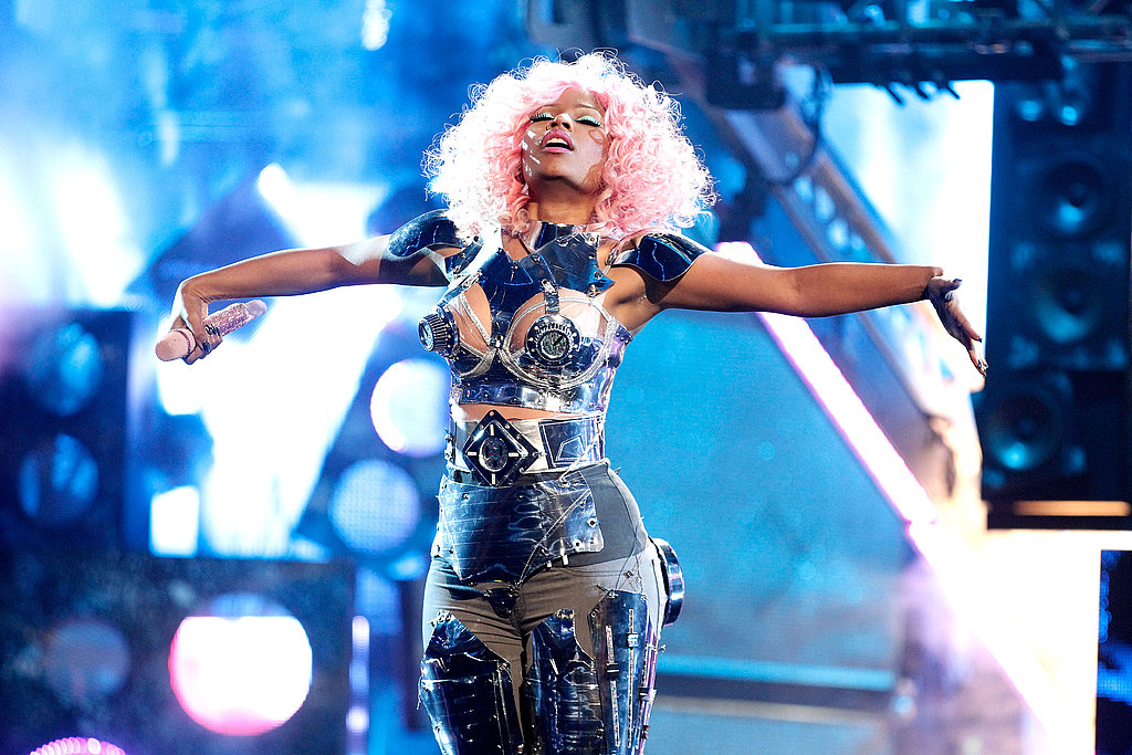 Nicki Minaj took the stage at LA's Nokia Theatre.