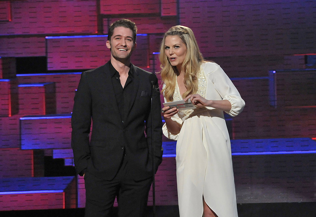 Jennifer Morrison and Matthew Morrison presented at the 2011 American Music Awards.