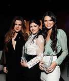 Khloe, Kylie, and Kendall teamed up for a photo.