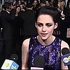 Kristen Stewart Video Interview at Breaking Dawn Premiere