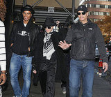 Madonna out in NYC with her boyfriend Brahim Zaibat.