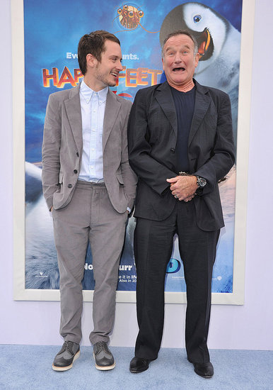 Robin Williams made Elijah Wood laugh.