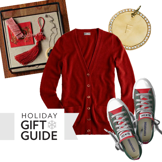 From Cardigans to Converse, 10 Cool Holiday Gifts You Can Personalize