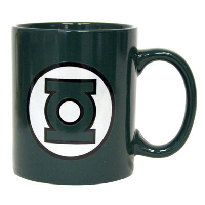 Green Lantern Logo Green Coffee Mug ($13)