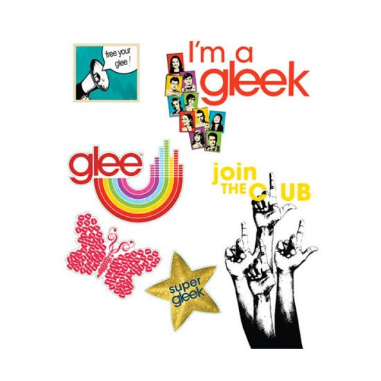 Glee Techno Tats — Go Team ($8)